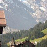 Peaks around Hotel Jungfrau