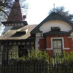 Burgers Park - Since 1898 the Curators (Gardeners) Cottag