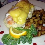 Shrimp Benedict was awesome!!