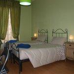 camera verde - doppia