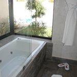 Salle de bain en villa