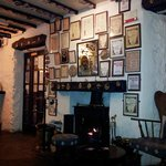 the dog-friendly bar at the Watermill