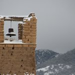 The bell tower at the Pueblo