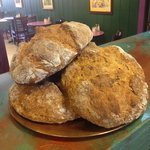 Freshly baked Herbed Irish Soda Bread