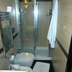 Bathroom shower view