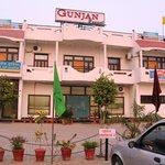 Gunjan Resorts Front View from the car parking