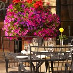 Outdoor Dining at The Silver Dollar Grill