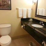 Spa-quality bathroom