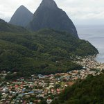 Pitons-St. Lucia
