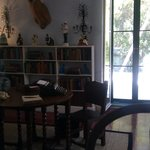 View of where Hemingway wrote his books in Key West