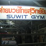 Suwit Gym sign