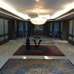 Large elevator lobby on each floor