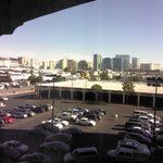 View out the room looking toward Las Vegas Strip