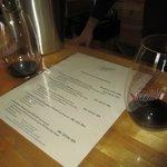 Wine at L'Aventure