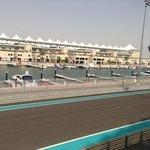 Yas marina & part of F1 track