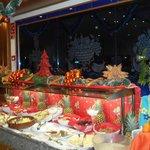 Christmas buffet dinner