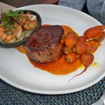 Entree:  Surf and turf
