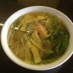 Won Ton soup...Chef's Favorite.
