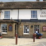 The Jolly Sailor on Ramsey's main road.