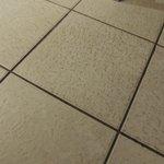 Floors are black & dirty