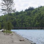 Kilby Provincial Park beach and campground