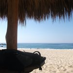 <relax en la playa