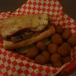 The Hog/Fried Mushrooms