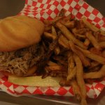 Pulled Pork/Fresh Cut Fries