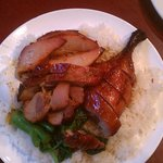 BBQ Pork & Duck $5.25