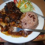 Jamaican Style Ox Tail. DELICIOUS!