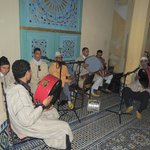 And the band played on at the Riad Amazigh New Year 2013 party