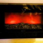 Digital fireplace wall heater.