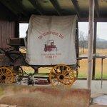 Chuck Wagon outside the barn