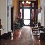 Lochinvar House - Victorian hallway