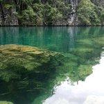 Water sooo clear @ Kayangan Lake