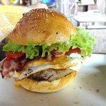 The aussie lot burger