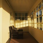 Veranda in the morning light