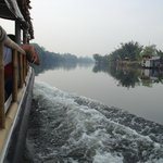 Not far outside Saigon on the river on the way to the Mekong