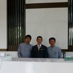 Some of the excellent concierge staff.