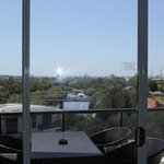 View from the lounge