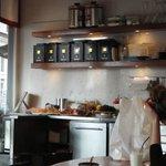 La cucina a vista!