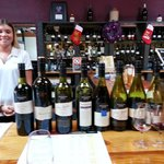 "Went all out with the Reds. The ""wine consultant"" Jess was great company and knows her wines wel"
