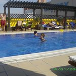 hotel pool - rooftop