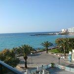 Zimmeraussicht auf das wunderbare Mittelmeer