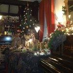 gezellige kerstsfeer