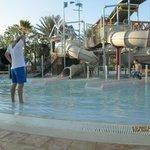 Kid pool area