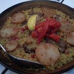 Pork Ribs Paella
