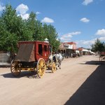 Stage coach - main street Tombstone