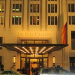 The Ritz at night