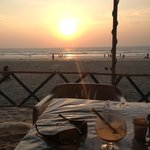 Sunset - great food to go with it